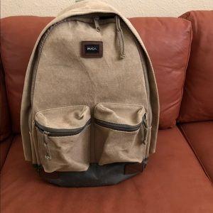 RVCA waxes canvas backpack
